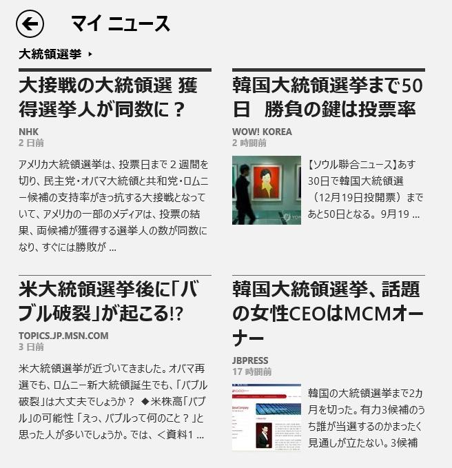Windows8マイニュース